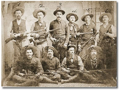 In 1874 the texas legislature created the frontier battalion led by