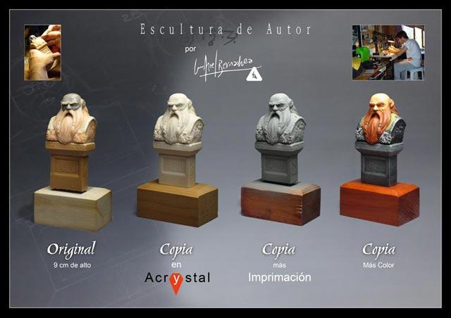 Escultura desde Bariloche - por LUIS ARIEL BERNACHEA Dain2