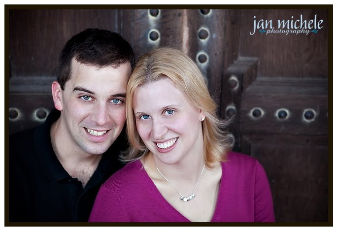 Georgetown Engagement Portrait