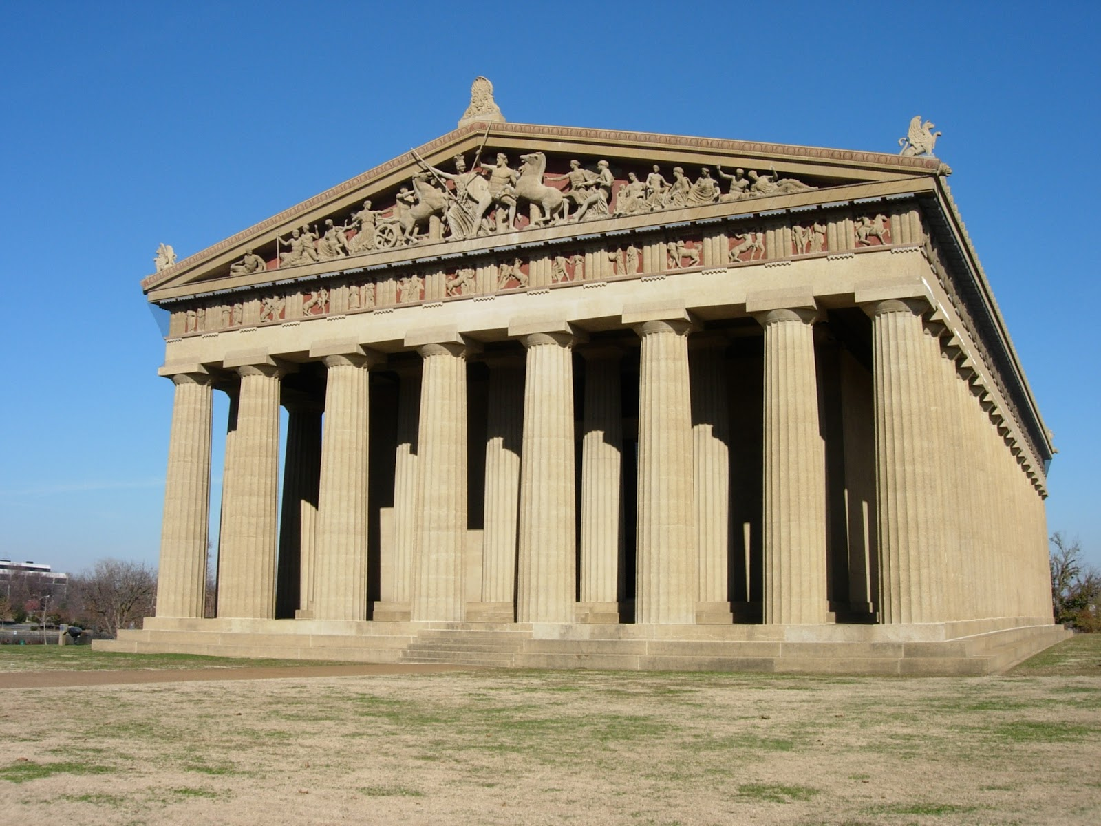 Karens English Class: Nashville Parthenon!