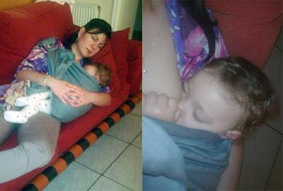 Το μωρό μου δεν είναι το μόνο που αποκοιμήθηκε την ώρα του θηλασμού!