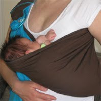 Ξαπλωμένο μωράκι σε Αστεράκι sling