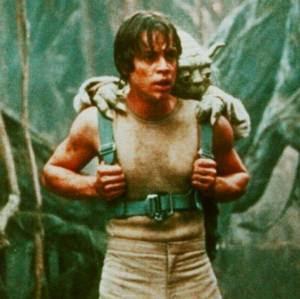 Ο Luke εκπαιδεύεται, στον Πόλεμο των άστρων!