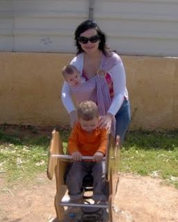 Με τα μωράκια μου στην παιδική χαρά