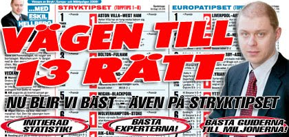 Stryktipset Aftonbladet.se Expert