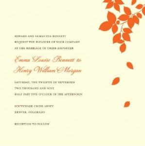 fall wedding idea that