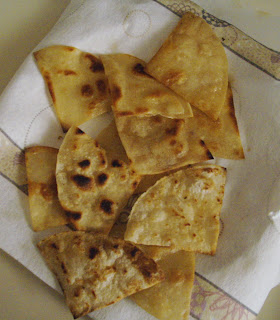 fried corn tortilla chips