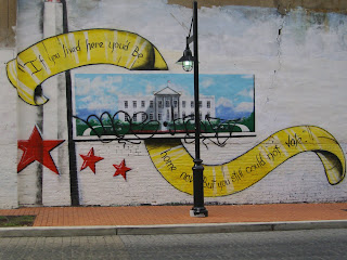 mural off 18th street in northwest dc