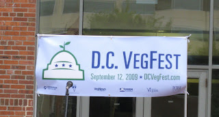 dc vegfest sign