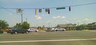 intersection near Applebees in Forestville Maryland