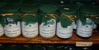 jams and preserves for sale in the herb cottage