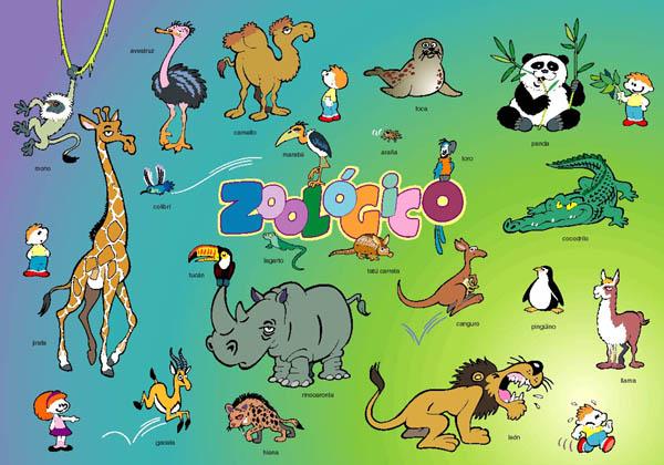 Imagenes de animales del zoologico con nombres - Imagui