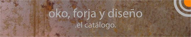 oko, forja y diseño. el catálogo.