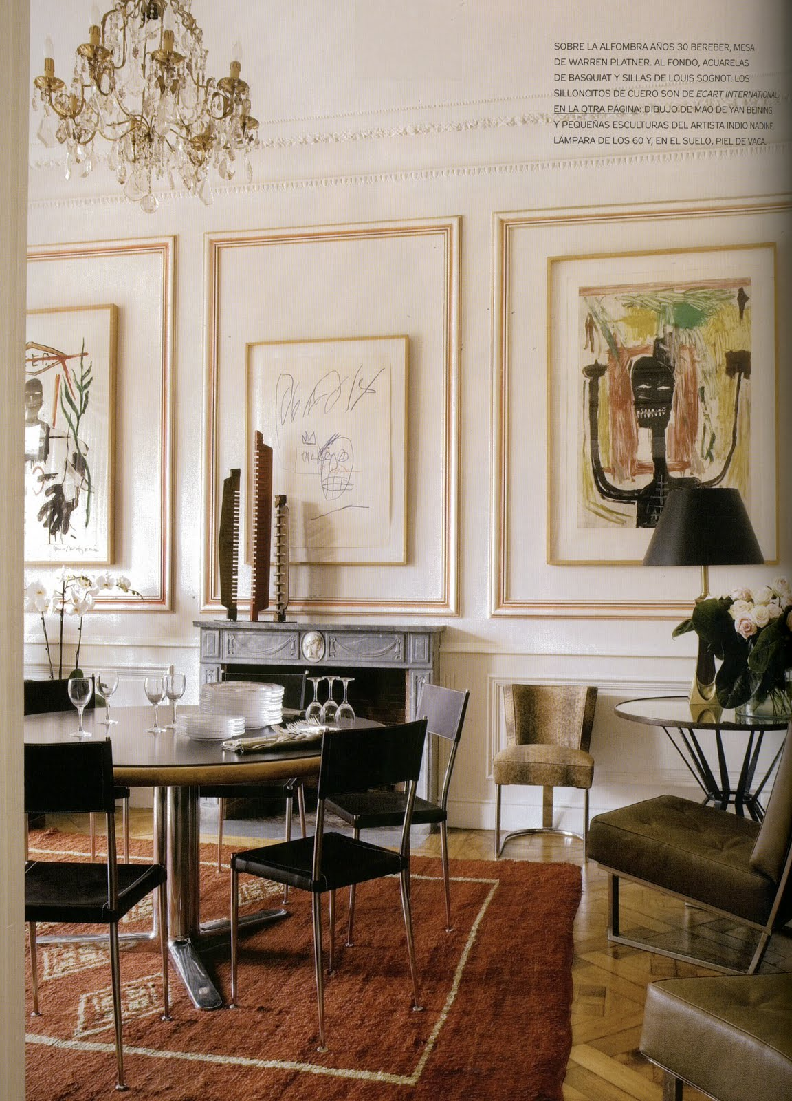 Aesthetically thinking the art of the install for Interior digest
