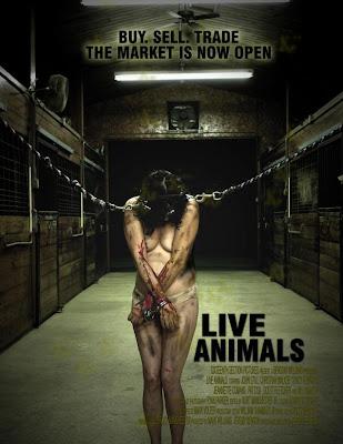 Filme Poster Animais Vivos DVDRip RMVB Legendado