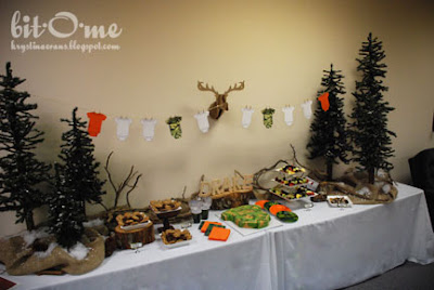 bit o me hunting theme baby shower the main event
