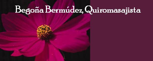 Begoña Bermúdez, Quiromasajista