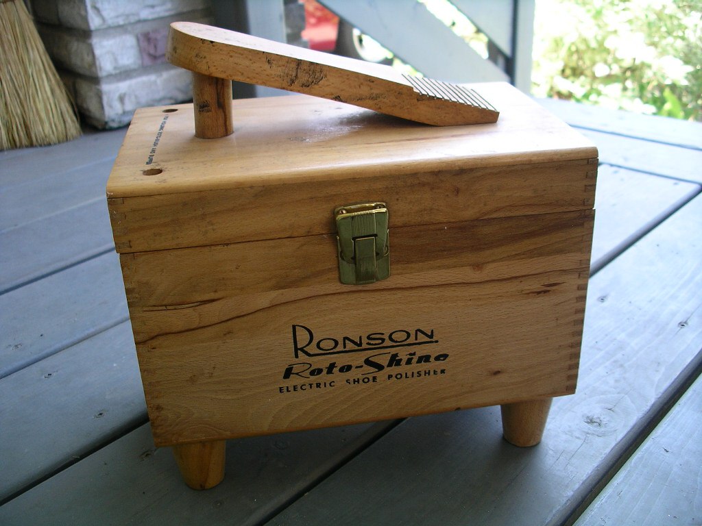 Shoe Shine Box Plans Free