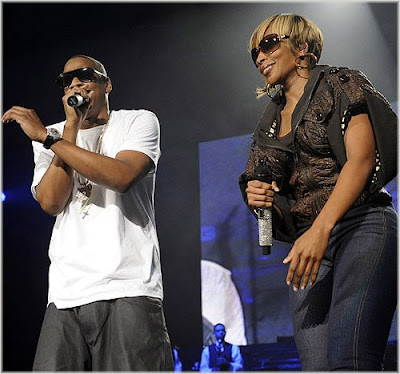 mary+n+jay Jay Z & Mary J. Blige Kick Off Tour