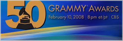 grammy+awards+2008 50th Annual Grammy Award Winners