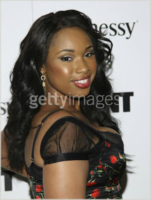 73388761 Jennifer Hudson Pre Oscar GIANT Party Picture Blowout!
