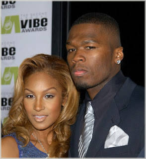 oliviaand50jpg 50 Cent Confirms Olivas Split From G Unit