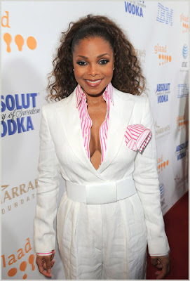 Janet At The GLAAD Media Awards