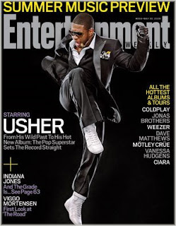 usher+pic Usher Covers Entertainment Weekly