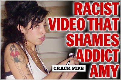amy+crack+head+what+a+shame1 Amy Winehouse In New Racism Scandal