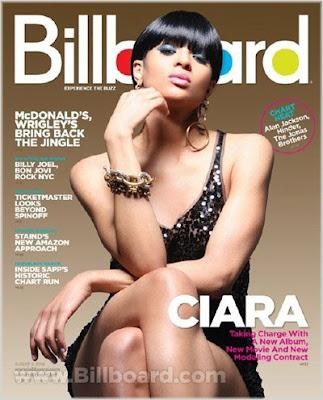 Ciara Covers Billboard Magazine
