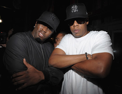 robin+thicke+diddy+jay+z Stars Come Out For Thicke Album Launch