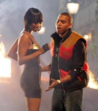 More Chris Brown & Keri Hilson Set Pics