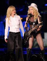 Britney & Madonna Perform Together In LA