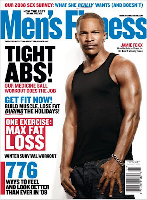 Jamie Foxx Covers Mens Health