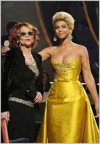 "etta james with beyonce Etta James Talks Beyonce Drama: ""It Was A Joke"""
