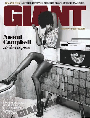 naomi+fierce Naomi Campbell Covers Giant