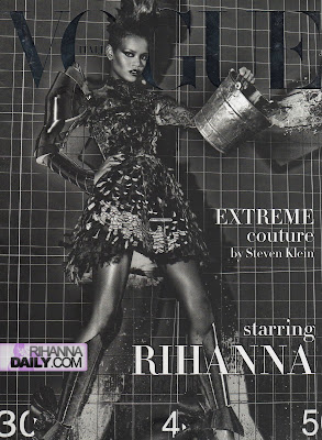 ir6 Rihanna Italian Vogue Shoot