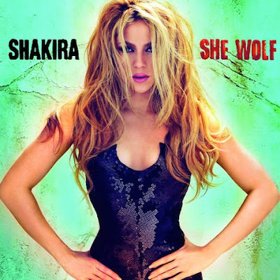Shakira - 'She Wolf' Album Cover