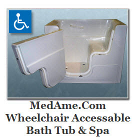 MedAme Affordable Medical Equipment Supply Store - Handicapped Bathtub