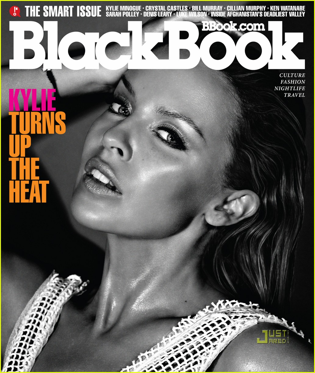 kylie minogue blackbook magazine june july 2010 01 Watch her puffy nipples swell as she plays with her tits.