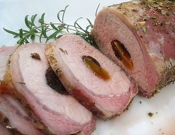 Ciao Chow Linda: Pork Loin Stuffed With Prunes and Apricots