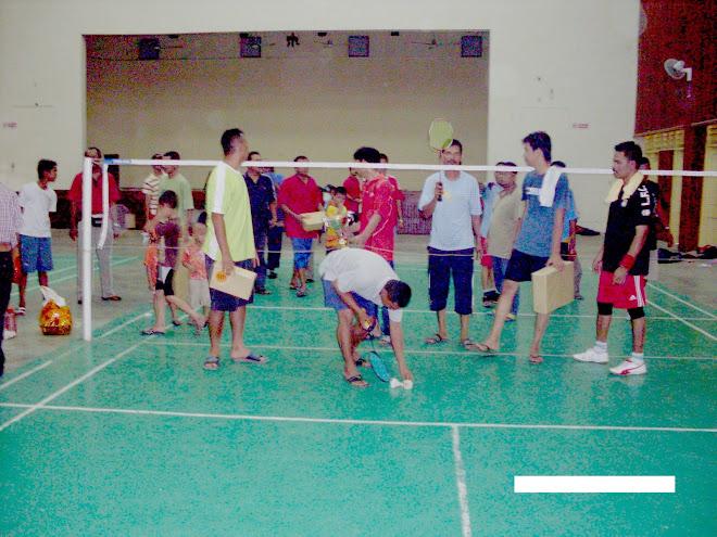 Kemeriahan Sepanjang pertandingan Badminton