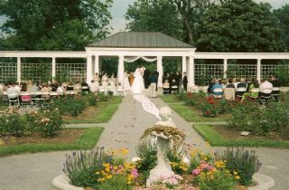 it is a vast space and you can hold a wedding ceremony wherever you would like on the grounds