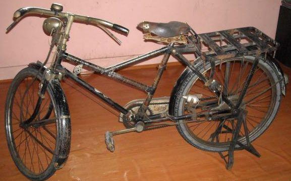 Menurut dari satu sumber basikal ini yang digunakan oleh tentera Jepun