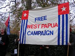 SPANDUK FREE WEST PAPUA CAMPAIGN INGGRIS