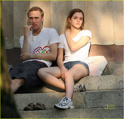 Emma Watson At Brown University. Emma Watson And Jay Barrymore.