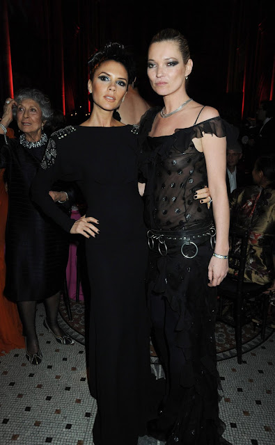 Kate Moss Nipple Slip at the British Council Fashion Awards in London
