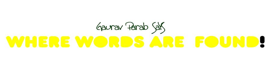 Gaurav Parab Says
