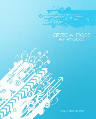 [DESCARGA] Varios brushes para Photoshop Arrow_Mess_by_RyukXD