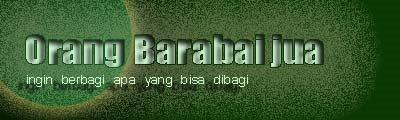 Orang Barabai Jua..!
